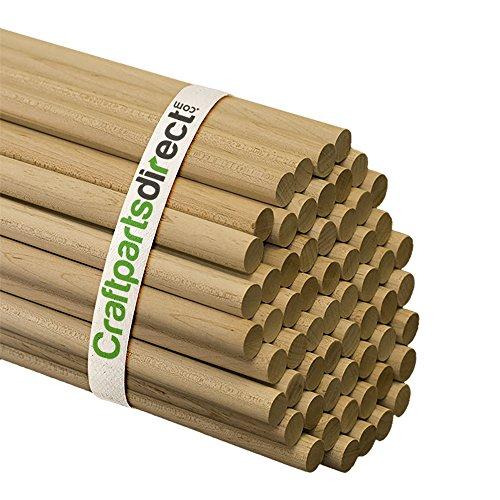 (Wooden Dowel Rods - 5/8