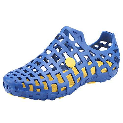 Zoccoli Classic Sabot YiLianDa Pantofola Sandali Unisex Blu Spiaggia tqS5TwP