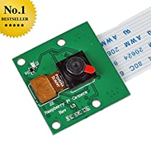 SainSmart Camera Module Board 5MP Webcam Video 1080p 720p for Raspberry Pi