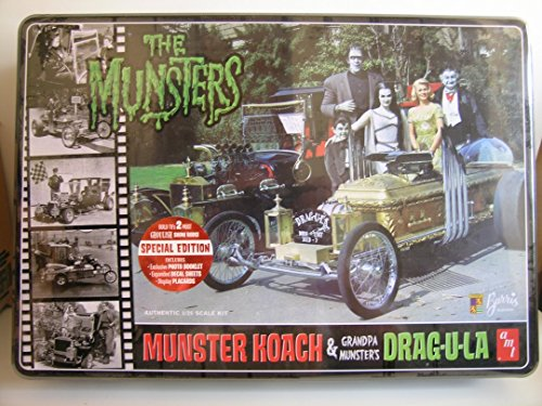 AMT Models----Special Limited Edition of The Munsters Koach & Grandpa's Drag-U-La---Plastic Model Kits (Edition Plastic Model)