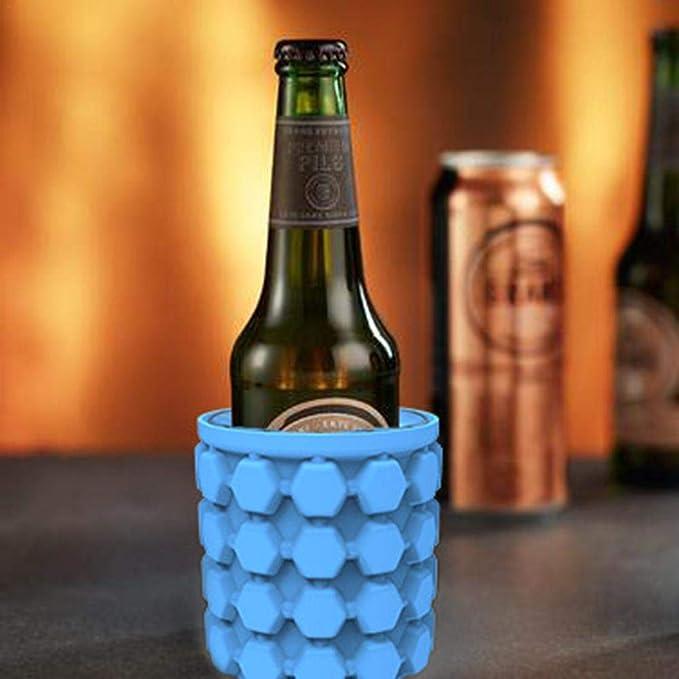 Compra juman634 Cubo de Hielo de Silicona Botella de Cerveza ...