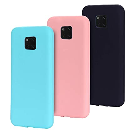 MOEVN Funda Huawei Mate 20 Pro Silicona, [ 3 Pack ] Candy ...
