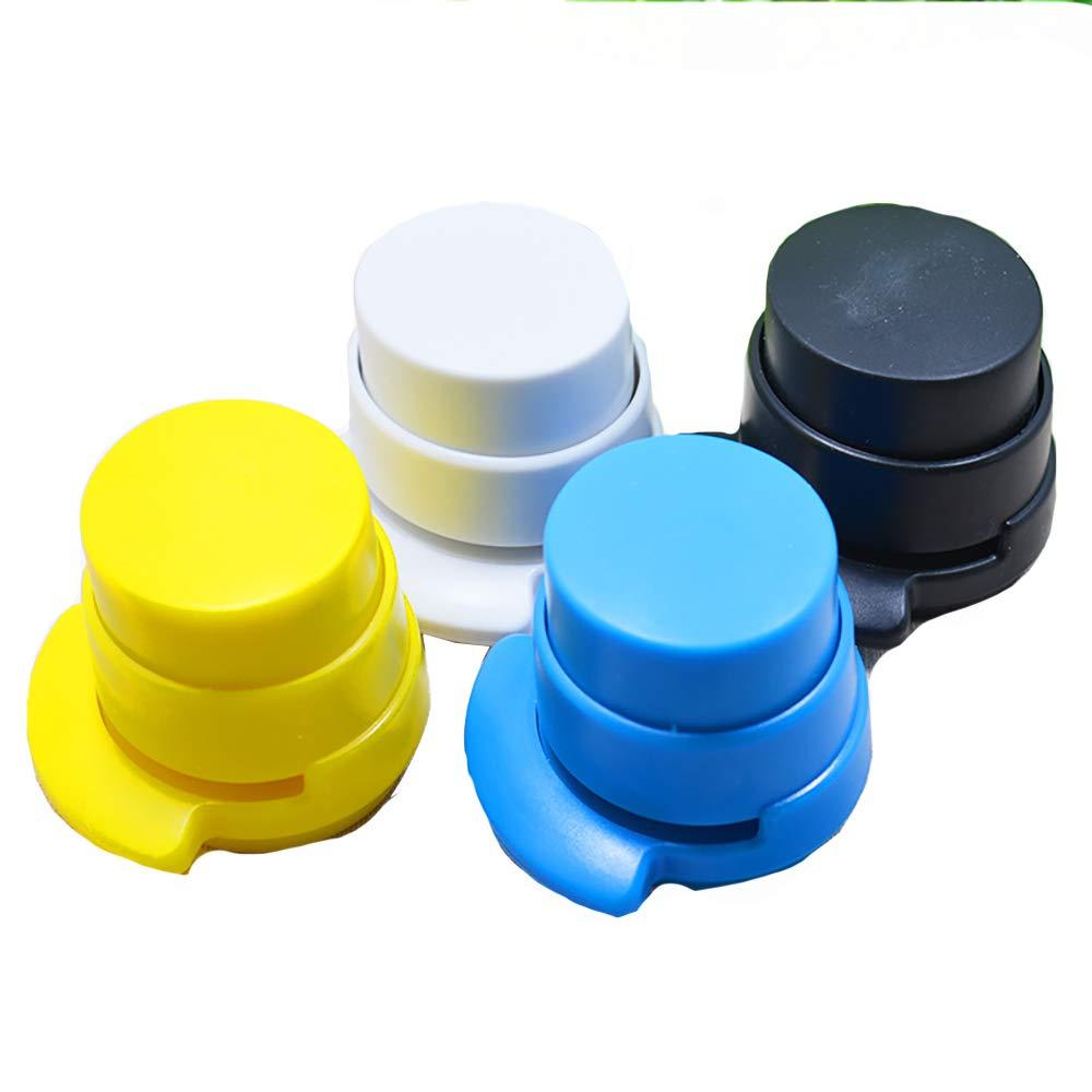 lamta1k Stapleless Stapler Office Home Portable Staple Free Stapleless Stapler Paper Binding Binder Paperclip