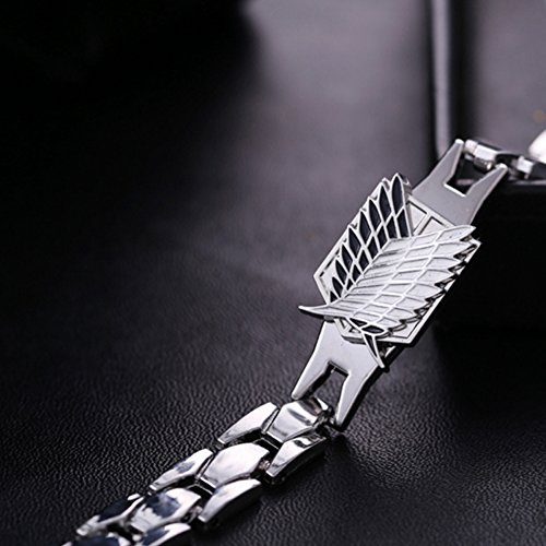 Attack on Titan Bracelet Shingeki No Kyojin Survey Corps TV Alloy Fancy
