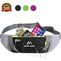 Malocaos Running Belt Waist Pack Bag for Women Men...