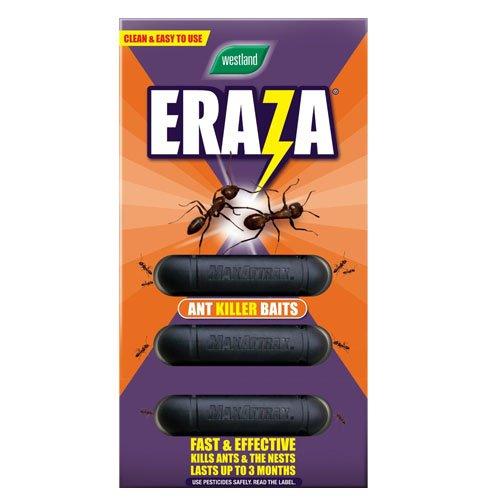 Eraza Ant Killer Bait Stations, Pack of 3 Westlands Horticulture Ltd 20300135 B004KPKXU8