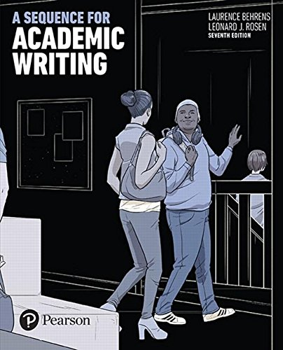 Sequence For Academic Writing