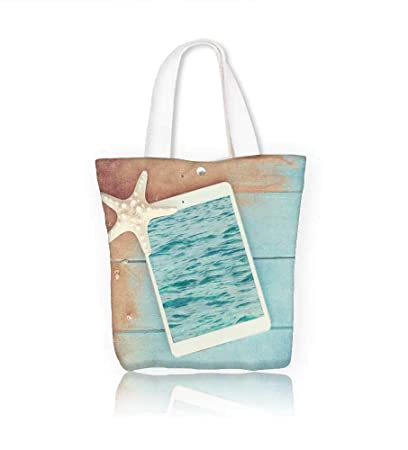 Amazon com: Canvas Zipper Tote Bag Concept of the summer