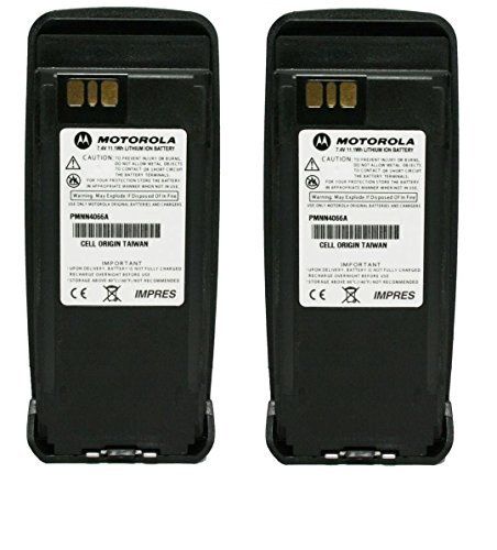 PMNN4066 PMNN4066A 2-PACK Original Motorola Submersible IP57 IMPRES Slim Battery Li-Ion 7.4V, 1700mAh – Compatible with MOTOTRBO XPR6100 XPR6300 XPR6350 XPR6500 XPR6550 XPR6380 XPR6580 Review