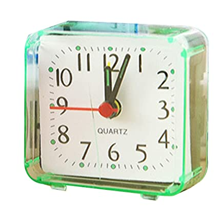 Amazon.com: Plane Watch - Square Small Bed Alarm Clock ...