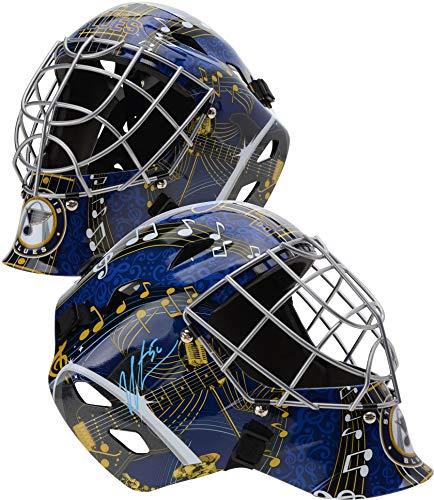 Jordan Binnington St. Louis Blues Autographed Replica Goalie Mask - Fanatics Authentic Certified - Autographed NHL Helmets and Masks