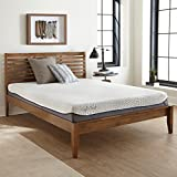 Basics Memory Foam Mattress by Perfect Cloud (Queen) - 8-Inch - All The Essentials for a Great Night's Sleep Featuring a Cooling Gel Memory Foam Topper for All Night Comfort