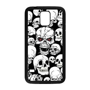 Nymeria 19 Customized Skull Art Diy Design For Samsung Galaxy S5 Hard Back Cover Case DE-3 by supermalls
