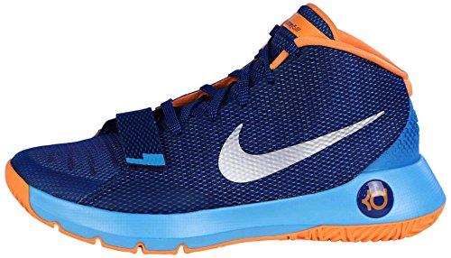 Nike Mens Kd Trey 5 Iii Scarpe Da Basket Blu Metallico Argento Blu Laguna 404