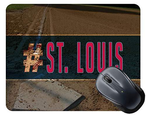 BRGiftShop Hashtag St. Louis #StLouis Baseball Team Square Mouse Pad
