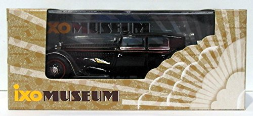 Ixo Models 1/43 Scale MUS032 - 1932 Bucciali Tav3 - Black B004CBCUI8