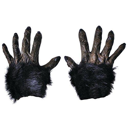 Fun Express - Hands Gorilla for Halloween - Apparel Accessories - Costume Accessories - Costume Props - Halloween - 1 Piece]()