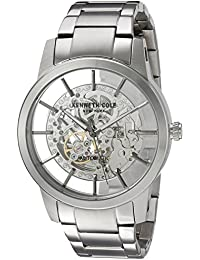 Men's ' Japanese Automatic Stainless Steel Dress Watch, Color:Silver-Toned (Model: 10031273)