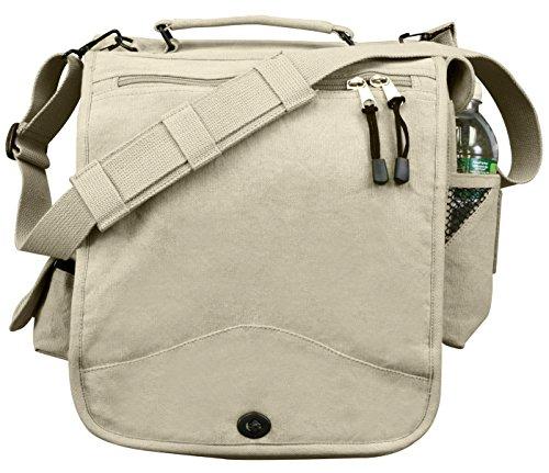(Rothco Vintage Khaki M-51 Engineers Bag)