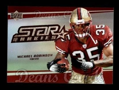 (2006 Upper Deck # 271 Michael Robinson San Francisco 49ers (Football Card) Dean's Cards 8 - NM/MT 49ers)
