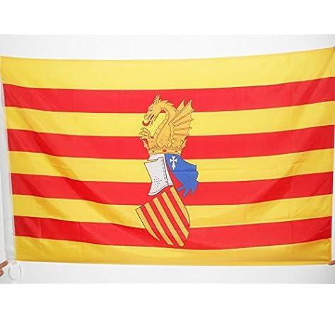 AZ FLAG Bandera del Consejo del PAÍS Valenciano 90x60cm para Palo ...