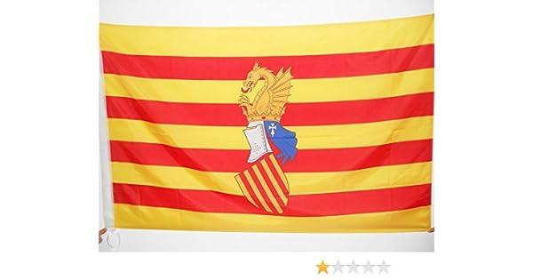 AZ FLAG Bandera del Consejo del PAÍS Valenciano 150x90cm para Palo - Bandera Antigua Comunidad Valenciana - Valencia 90 x 150 cm: Amazon.es: Hogar