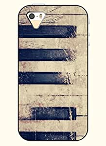 OOFIT Phone Case design with Piano Keyboard with Apple iPhone 4 4s 4g