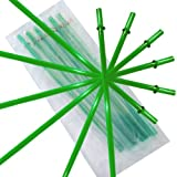 Green Replacement Acrylic Straw Set of 6, Fits 16oz, 20oz, 24oz Tumblers
