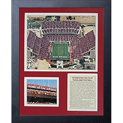 Legends Never Die Texas A&M University Kyle Field Framed Photo Collage, 11 by 14-Inch by Legends Never Die