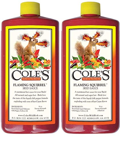 (Cole's FS16 Flaming Squirrel Seed Sauce, 16-Ounce (2-(Pack)))