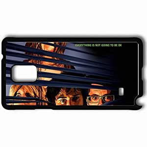 Personalized Samsung Note 4 Cell phone Case/Cover Skin A scanner darkly keanu reeves bob arctor winona ryder donna hawthorne robert downey jr. james barris woody harrelson ernie luckman face Movies Black