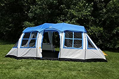 Tahoe Gear Prescott 12 Person 3-Season Family Cabin Tent