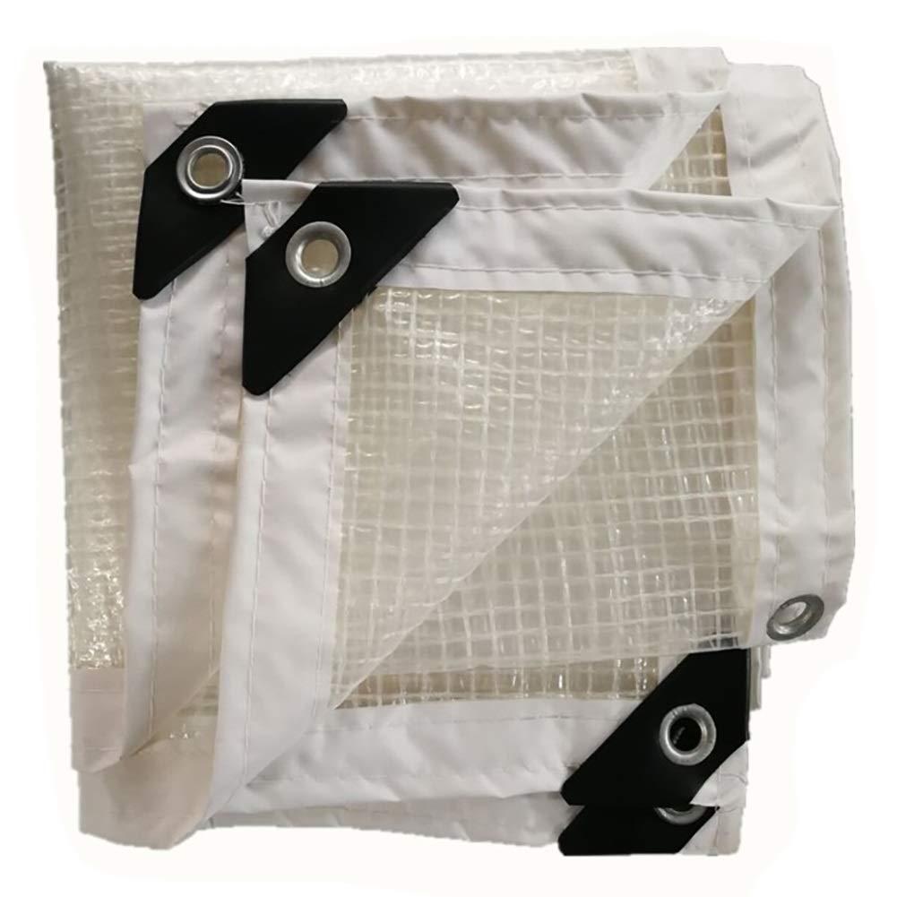 DYFYMXOutdoor Ausrüstung Wasserdichte Transparente Plane mit perforierter Regenschutzplane @