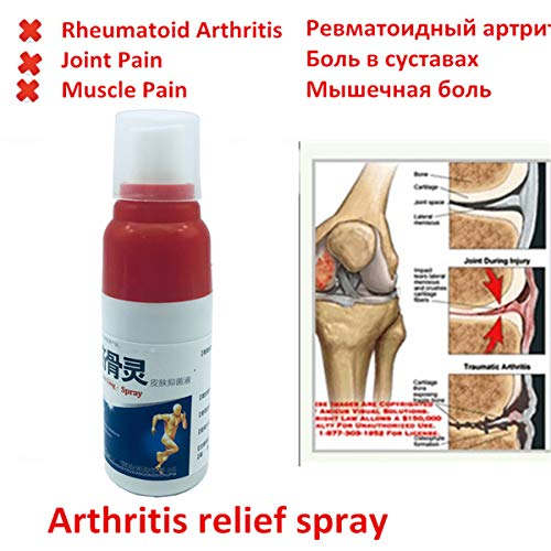 HELLOYOUNG Relief Spray Arthritis Spray Penetrates deep into Muscles and Joints sprains Ointments