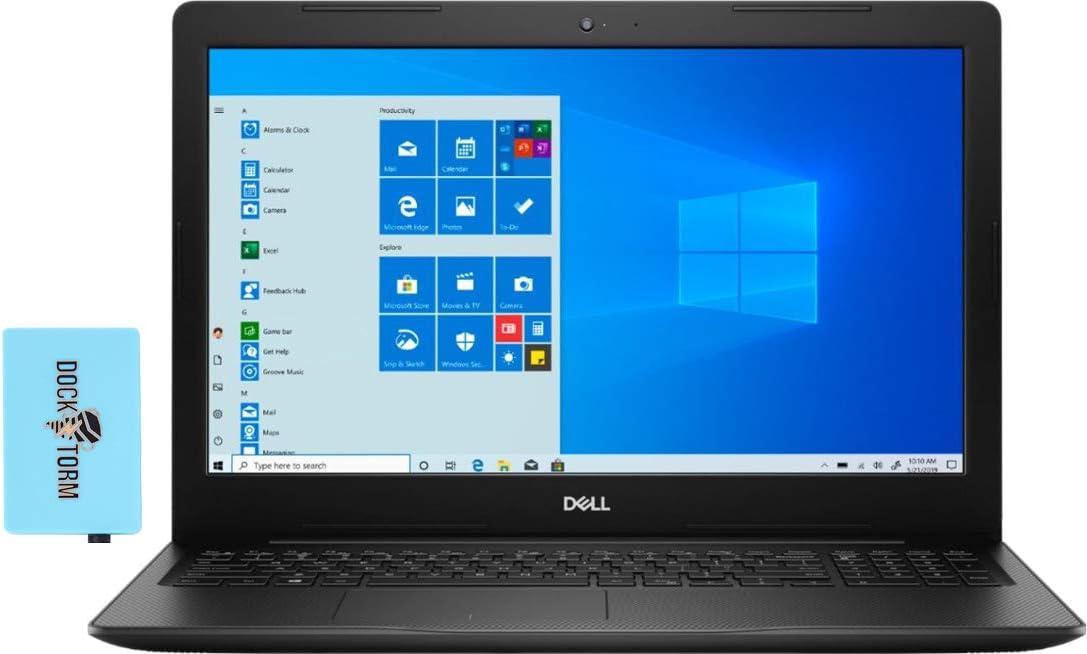 Dell Inspiron 3593 Home and Business Laptop (Intel i7-1065G7 4-Core, 64GB RAM, 1TB m.2 SATA SSD + 2TB HDD, Intel Iris Plus, 15.6