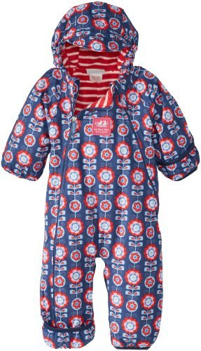 70e19efbf Jojo Maman Bebe Baby-Girls Newborn Waterproof Fleece Lined All-In ...
