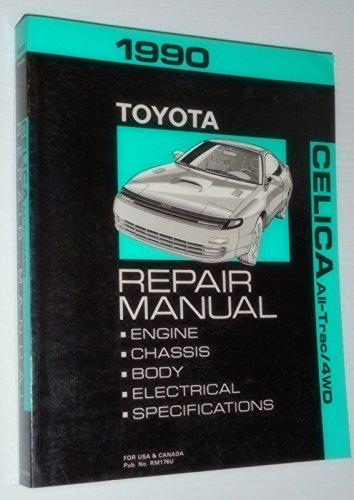 1990 Toyota Celica All-Trac 4WD Repair Manual