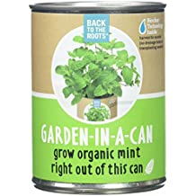 Back to the Roots Garden In A Can Grow Organic Mint, 0.38647 Pound