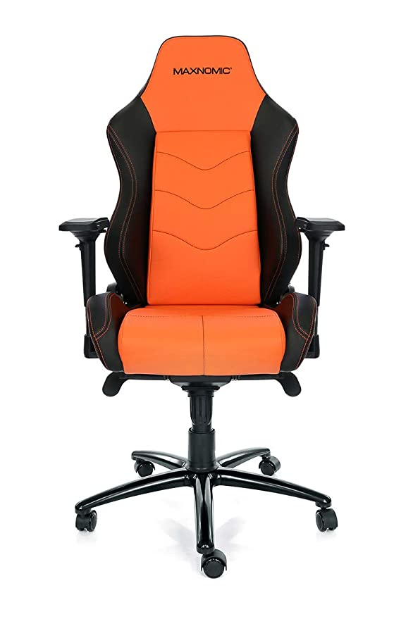 Amazon.com: MAXNOMIC Dominator (Orange) Premium Gaming Office & Esports Chair: Kitchen & Dining