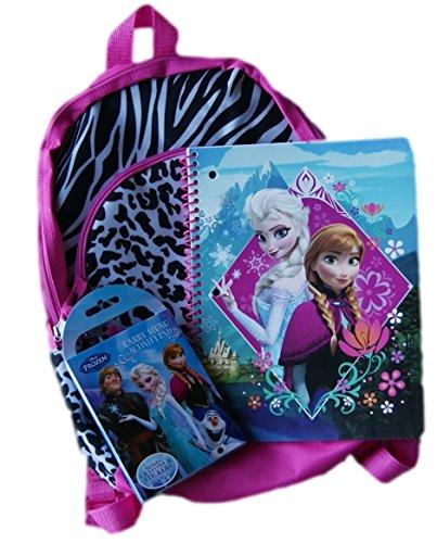 Frozen Backpack School Set