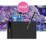 VEIKK S640 6 x 4 inch OSU Tablet Drawing Tablet with Wireless 8192 Pressure Level Pen No Battery
