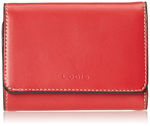 Lodis Audrey Mallory French Wallet, Red, One Size