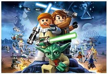 Lego Star Wars Photo Wall Mural Amazon Co Uk Diy Tools