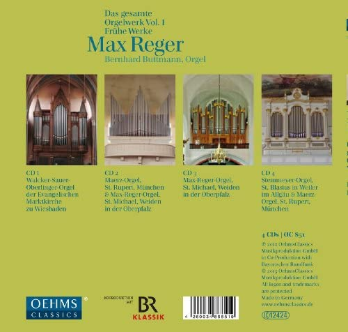Complete Works for Organ Early Works 1
