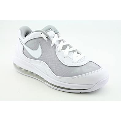 the latest ec29a 688a8 Nike Air Max BB Low Mens Basketball Shoes  441947-101  White White
