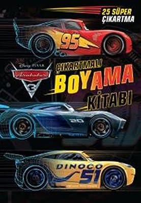Arabalar 3 Cikartmali Boyama Kitabi 25 Super Cikartma Kolektif