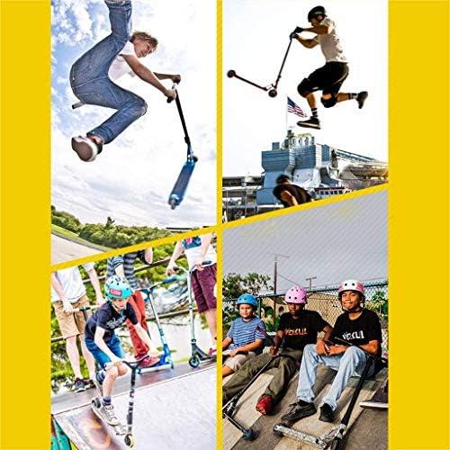 Pro Stuntstep, Beste Instaptrickstep Met 100 Mm PU-wielen, Lichtgewicht Freestyle Kickstep Voor Beginners, Kinderen Met Ondersteuning Van 220 Lbs