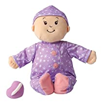 """Manhattan Toy Baby Stella Sweet Dreams Soft Nurturing First Baby Doll for Ages 1 Year and Up, 15"""""""