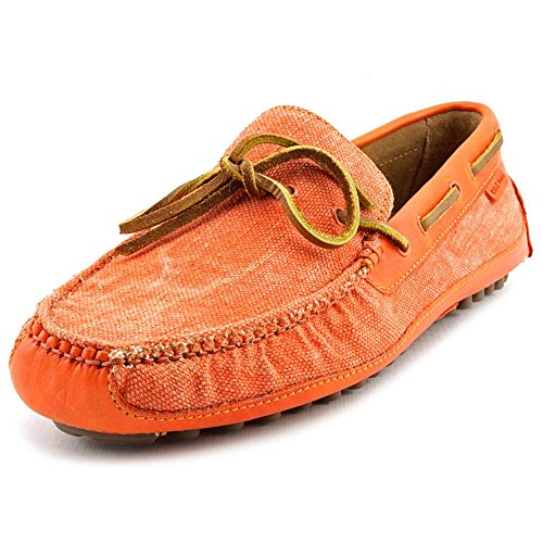 Cole Haan Grant Canoe. Camp. Moc Men US 9 Orange Loafer