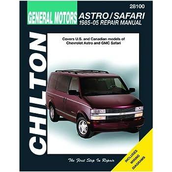 chilton 28100 85-96 astro/safari